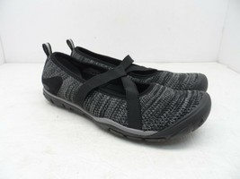 Keen Women's Hush Knit Mj CNX Mary Jane Flat 1019002 Black/Gargoyle Size 8.5M - $56.99