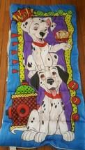 "101 Dalmatians Sleeping Bag Vintage Disney 29 x 55"" - $39.59"