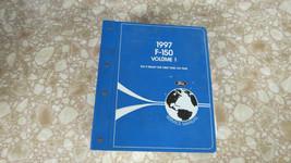 1997 FORD F 150 250 PICK UP ORIGINAL VOLUME 1 FACTORY SERVICE MANUAL BINDER - $42.11
