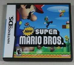 New Super Mario Bros. Nintendo DS 2006 Complete w/ Manual & Case - $21.27