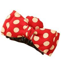 [Red Polka Dots] Sweet Style Hair Claw Hair Pins Beautiful Hair Barrette image 1