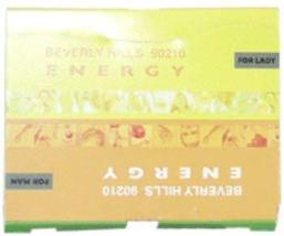Unisex Giorgio Beverly Hills 90210 Energy EDT Splash Vial (Mini) 2 x 2 ml 1 pcs  - $22.74
