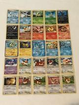 Pokemon Cards Lot of 25 Eeveelutions Cards Eevee Leafeon Flareon Holo  - $39.99