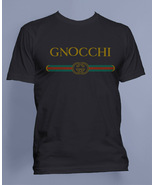 Gnocchi #2 Men Tee / T-shirt S to 3XL Black - $20.00+