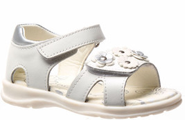 Girls Shoes Grosby Cassie Pink or white Leather Upper Sandal Size 4-12 - $26.43