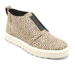 Universal Thread Damen Lilian Microsuede Leopard Bedruckte Slipper Sneakers Neu