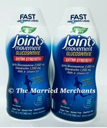 (2) Nature's Way Joint Movement Glucosamine Extra Strength 16 fl oz each 3/2021 - $24.99