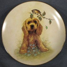 What's Up? Collector Plate First Impressions Joseph Giordano 1991 Dog Puppy - $27.95