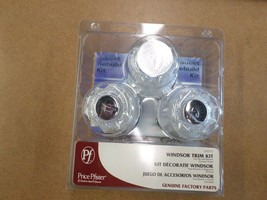 Genuine Price Pfister Windsor Trim Kit, Chrome Plated - $37.80