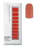 Essie Sleek Stick Nail Stickers 03 So Haute Gold Spiked Crimson Long Wearing Art - $5.42