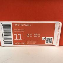 Nike Metcon 4 Running Shoes 11 White/Black-Sail AH7453 101 image 8