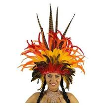 Empress Sun Carnival Feather Headdress - Adult Cosplay/Halloween Costumes - £80.99 GBP