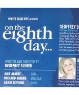 On the Eighth Day Write Club NYC Theatre C Amy Albert Richard Binder Sen... - $39.59