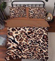 3D Animal Fur 05 Bed Pillowcases Quilt Duvet Cover Set Single Queen King Size AU - $90.04+