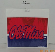"""Wincraft Ole Miss Rebels Ultra Decal 5"""" x 6"""" - $9.50"""