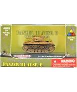 Classic Armor 1:144 Panzer III AUSF. E Heavy Tank Model #422 Desert Stor... - $8.90