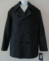 Roundtree & Yorke Size Large WILLIAM Charcoal Wool Blend New Mens Jacket... - $97.47
