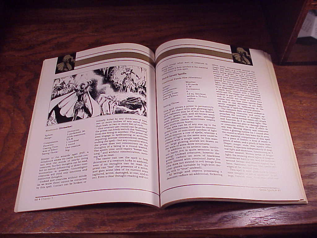 advanced dungeons and dragons manual