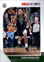 Khris Middleton 2019-20 Panini NBA Hoops Card #107 image 1