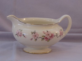 Homer Laughlin Eggshell Nautilus Apple Blossom Creamer - $20.00