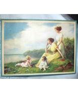 1911 Zula Kenyon-Edwardian mothers,small children,lake-Lifes - $48.00