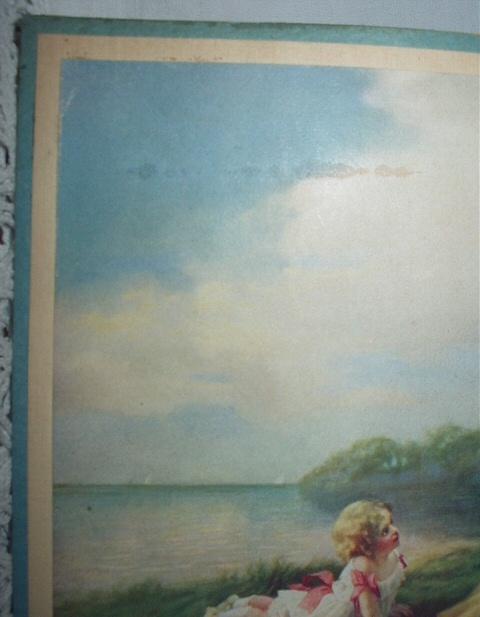 1911 Zula Kenyon-Edwardian mothers,small children,lake-Lifes