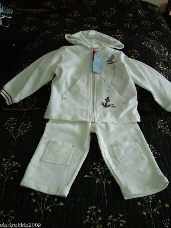 NWT First Impressions Baby Boy French Terry Set 24 mnts
