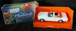 Maisto DIE CAST CAR Replica 1964 Ford Mustang Convertible 1:39 Scale White - $34.65