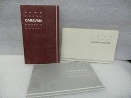 Dodge Caravan 1990 Owners Manual 16641 - $13.81