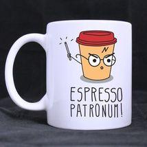 Arrival Harry Potter coffee Custom Personalized Coffee Tea White Mug - $13.99