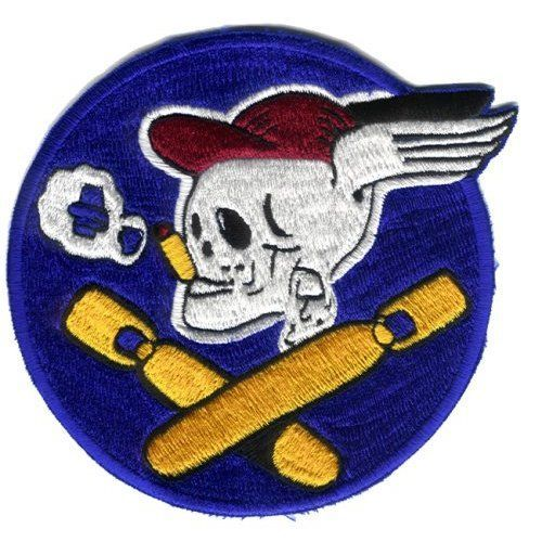 "587th Bombardment Squadron 4.9"" Patch Military"