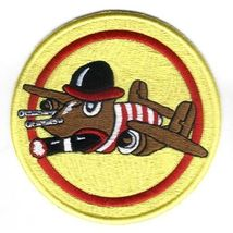 "22nd Bomb Squadron 7th Bomb Group 4.75"" Patch Military - $19.99"