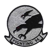"Usn Fighter Squadron Fighting 96 Falcons 4.8"" Patch - $19.99"