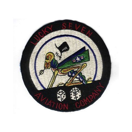 "LUCKY-SEVEN 5.5""  Patch"