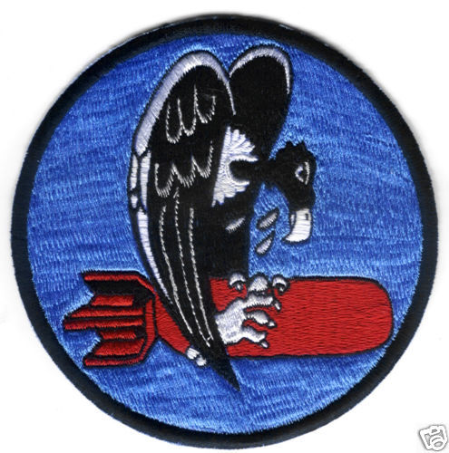 "743rd Bombardment Squadron 455th Bomg Group 4.5"" Patch"