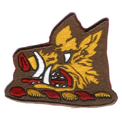 "VF-11 Red Rippers Boar's Head 4"" PATCH"