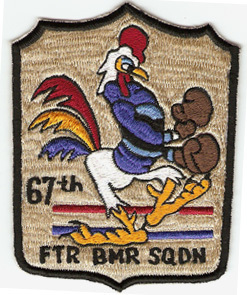 "67th Fighter Bomb Squadron 4"" Patch"