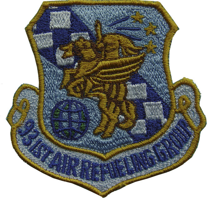 "931ST AIR REFUELING GROUP 3"" Patch"