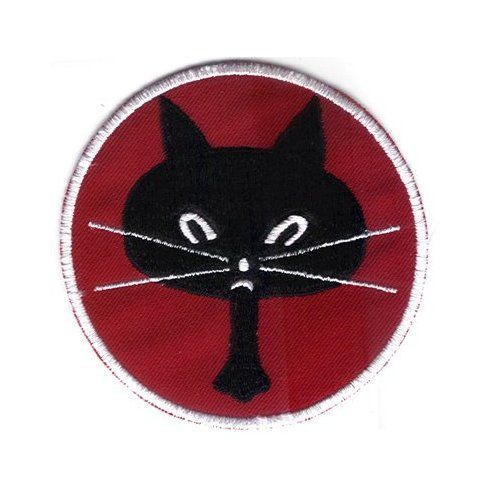 "5TH RECON Squadron Blackcats 3.75"" Patch defunct"