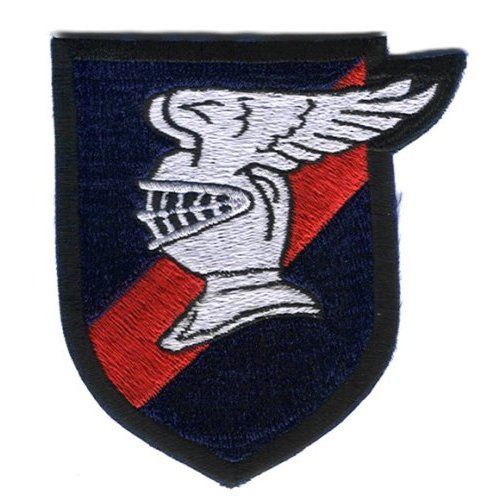 "9th Fighter Squadron 3.75"" Patch Knight in armour"