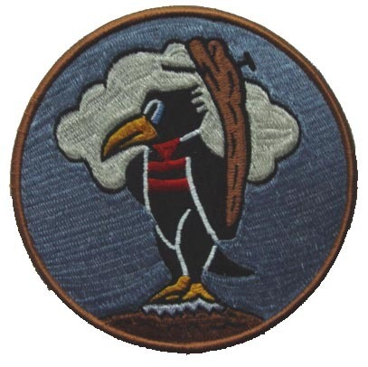 "93rd FIGHTER SQUADRON 5"" Patch"