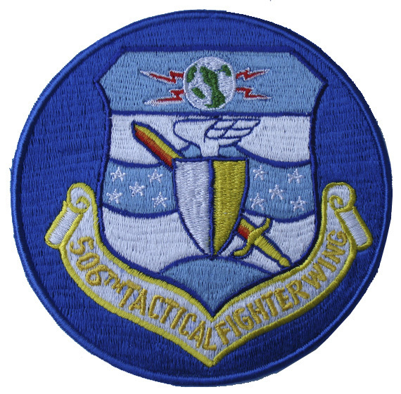 "506th Tactical Fighter Squadron 5"" Patch"