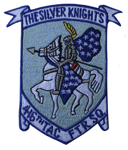 "416th Tactical Fighter Squadron 4.75"" Patch"