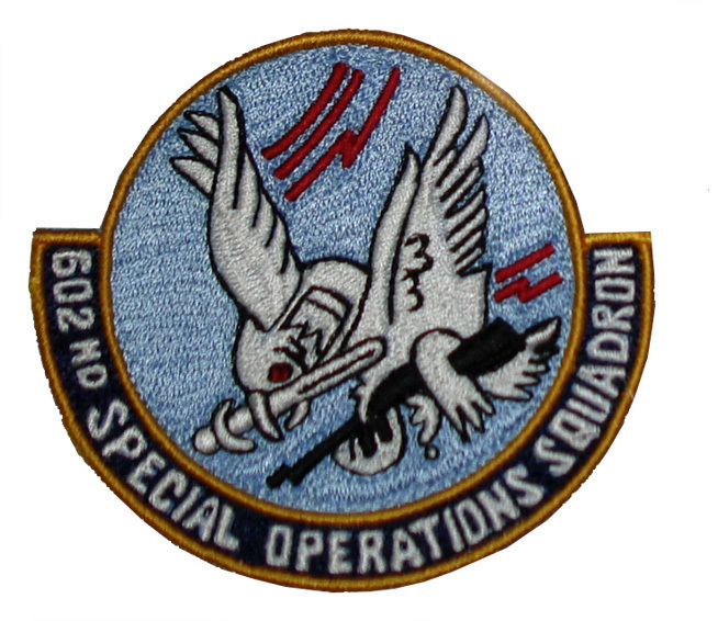 "602nd Special Operations 3.5"" Patch Green Hornets"