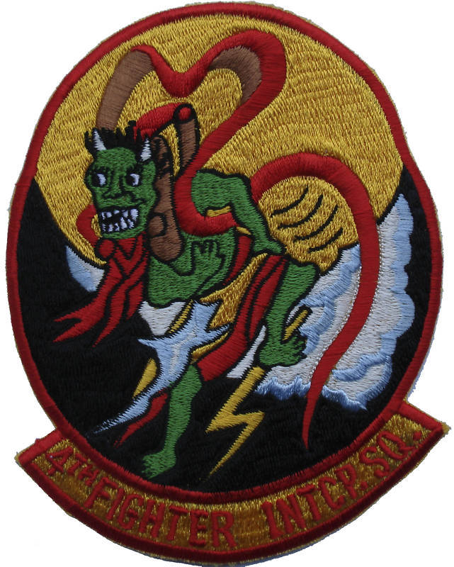 "4th Fighter Interceptor Squadron 5"" Patch 4 FIS"