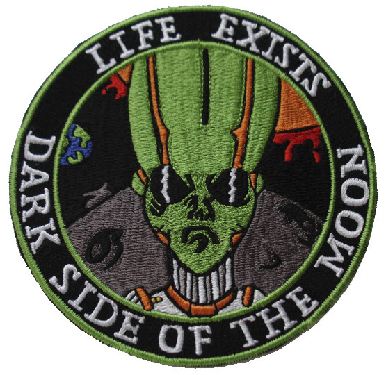 "UFO Alien Life Exists Dark Side of the Moon 5"" Patch"