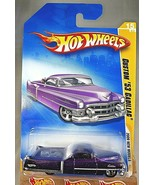 2009 Hot Wheels #15 New Models 15/42 CUSTOM '53 CADILLAC Purple Variatio... - $8.25