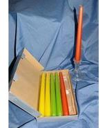 "Partylite Citrus Metallic Tapers 10"" Party Lite - $8.00"
