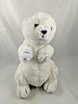 "Zoo Pals White Polar Bear Plush 12"" Korea Wallace Companies Stuffed Anim... - $14.95"