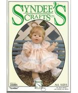 """Syndee's Crafts 1994 Syndee Pattern #24005 10"""", 16"""" and 21""""  Baby Dolls ... - $10.00"""